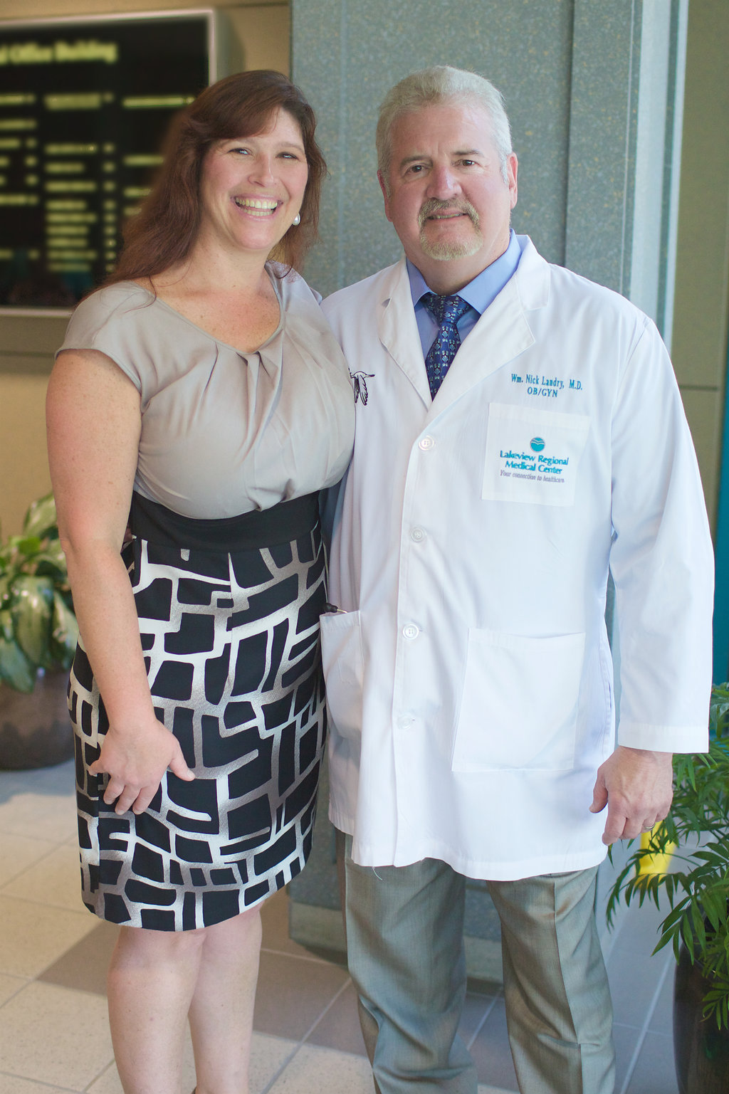 Dr. Nick Landry and his wife, Kelo