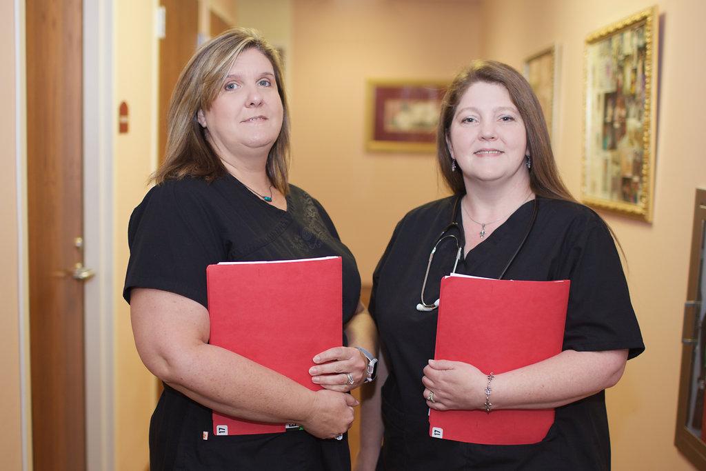 Delisa Edwards, Sr. Medical Assistant & Tara Chapman, RN