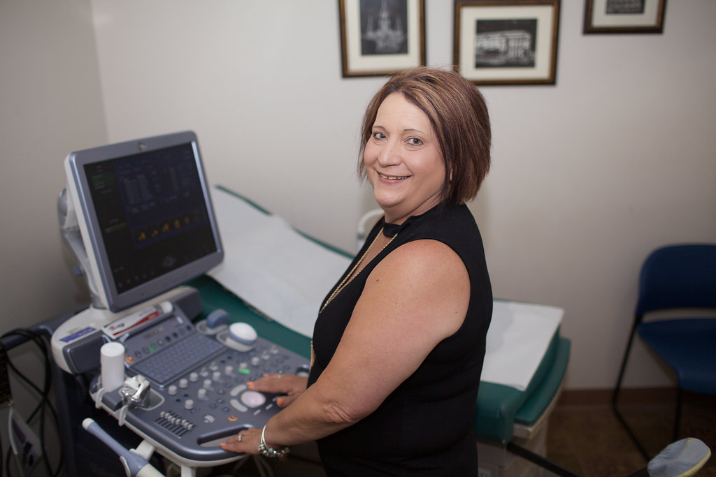 Mary Spinato, Ultrasound Tech